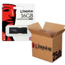 KINGSTON USB 3.0 DATATRAVELER 100 G3 16GB - 25 DB-OS CSOMAG