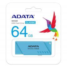 ADATA UV230 USB 2.0 PENDRIVE 64GB KÉK