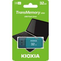 KIOXIA TRANSMEMORY U202 USB 2.0 PENDRIVE 32GB KÉK