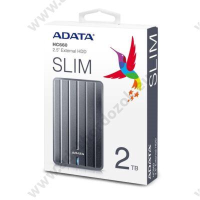 ADATA HC660 2,5 COL USB 3.1 KÜLSŐ MEREVLEMEZ 2TB