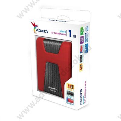 ADATA USB 3.0 HDD 2,5 HD650 1TB PIROS