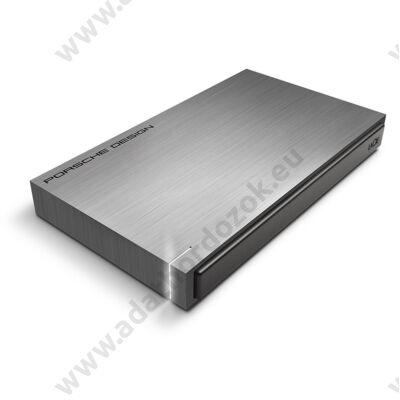 LACIE PORSCHE DESIGN MOBILE DRIVE 2,5 COL USB 3.0 KÜLSŐ MEREVLEMEZ 1TB SZÜRKE