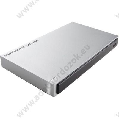 LACIE PORSCHE DESIGN MOBILE DRIVE 2,5 COL USB 3.0 KÜLSŐ MEREVLEMEZ 1TB EZÜST