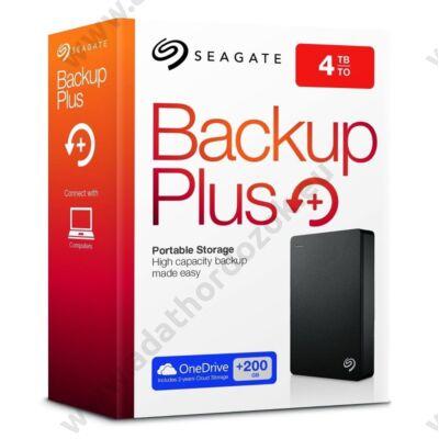 SEAGATE BACKUP PLUS 2,5 COL USB 3.0 KÜLSŐ MEREVLEMEZ 4TB FEKETE