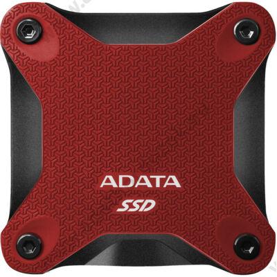 ADATA SD600Q 2,5 COL USB 3.1 KÜLSŐ SSD MEGHAJTÓ 480GB PIROS