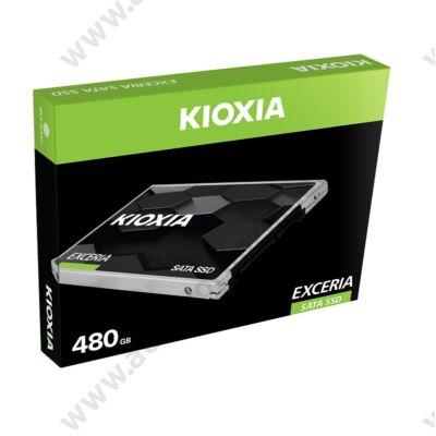 KIOXIA EXCERIA 2,5 COL MÉRETÚ SATA III 550/540 MB/s 7mm SSD MEGHAJTÓ 480GB