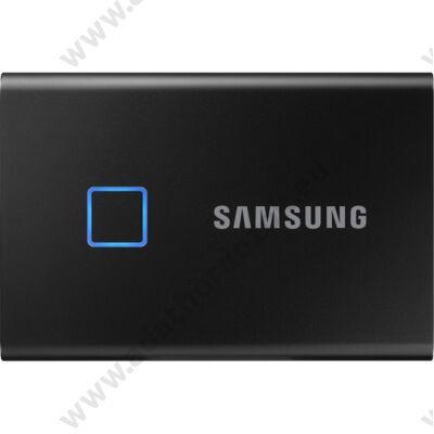 SAMSUNG T7 TOUCH USB 3.2 KÜLSŐ SSD MEGHAJTÓ 500GB FEKETE
