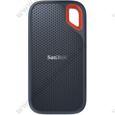 SANDISK EXTREME PORTABLE USB-C 3.1 GEN 2 KÜLSŐ SSD MEGHAJTÓ 250GB FEKETE