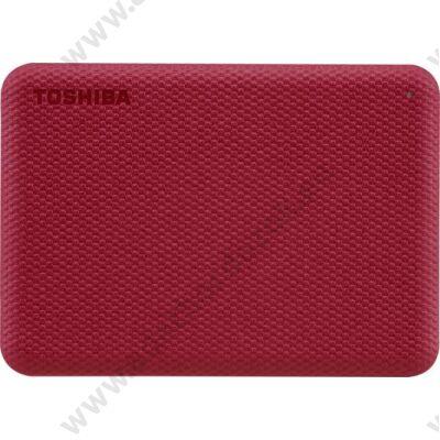 TOSHIBA CANVIO ADVANCE 2,5 COL USB 3.2 GEN 1 KÜLSŐ MEREVLEMEZ 4TB PIROS