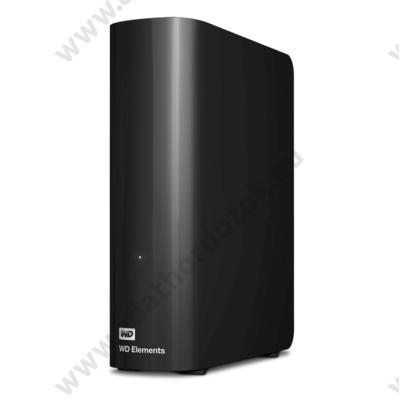 WESTERN DIGITAL ELEMENTS DESKTOP 3,5 COL USB 3.0 KÜLSŐ MEREVLEMEZ 4TB FEKETE