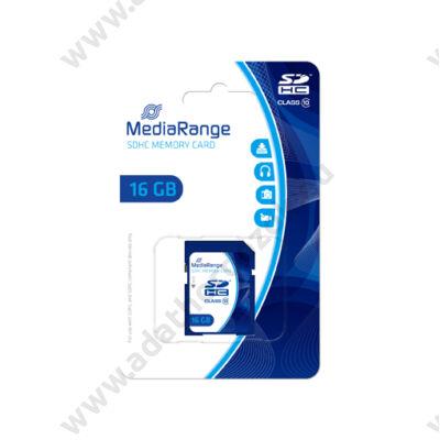 MEDIARANGE SDHC 16GB CLASS 10 MR963