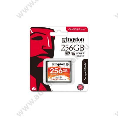 KINGSTON CANVAS FOCUS COMPACT FLASH 150R/130W UDMA7 VPG-65 256GB