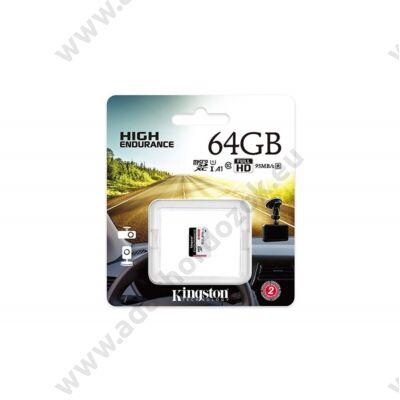 KINGSTON HIGH ENDURANCE MICRO SDXC 64GB CLASS 10 UHS-I U1 A1 95/30 MB/s