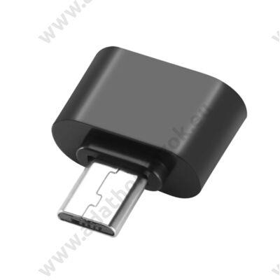 MICRO USB/USB 2.0 OTG ADAPTER FEKETE