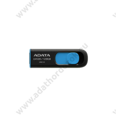 ADATA USB 3.0 DASHDRIVE CLASSIC UV128 128GB FEKETE/KÉK