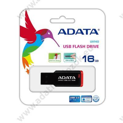 ADATA USB 3.0 PENDRIVE UV140 16GB FEKETE/PIROS