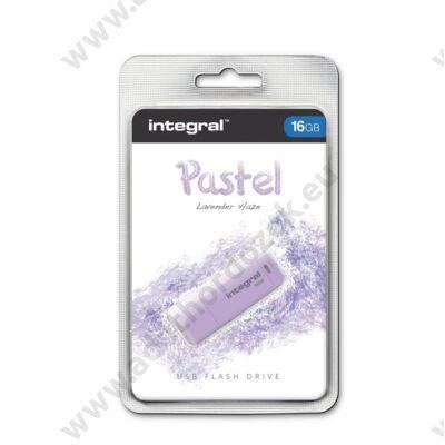 INTEGRAL USB 2.0 PENDRIVE PASZTELL LILA 16GB
