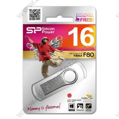SILICON POWER FIRMA F80 USB 2.0 PENDRIVE 16GB