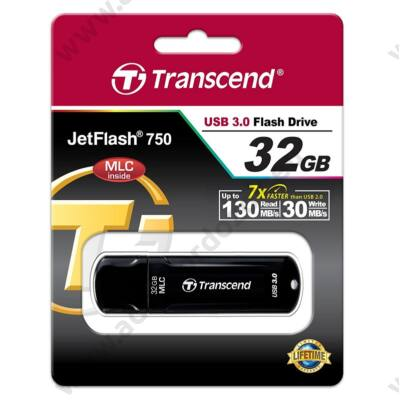 TRANSCEND USB 3.0 PENDRIVE JETFLASH 750 32GB