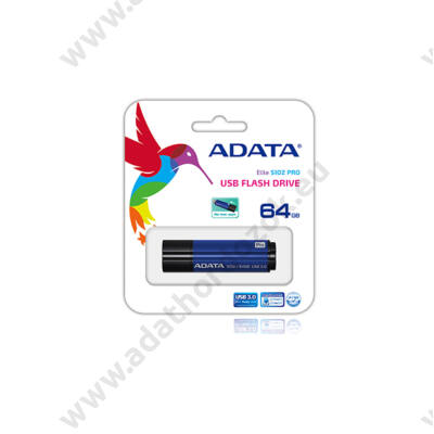 ADATA USB 3.0 DASHDRIVE ELITE S102 PRO ADVANCED 64GB KÉK