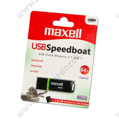 MAXELL USB 3.1 PENDRIVE SPEEDBOAT 64GB