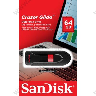 SANDISK USB 2.0 PENDRIVE CRUZER GLIDE 64GB