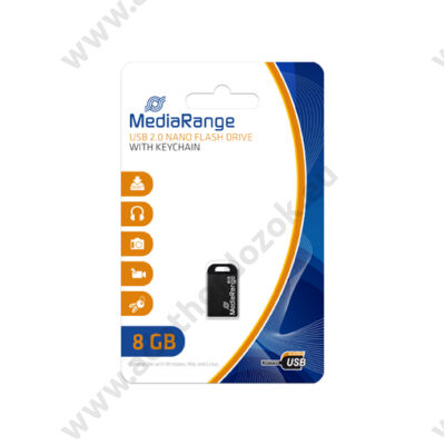 MEDIARANGE USB 2.0 PENDRIVE NANO 8GB MR920