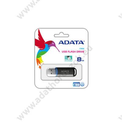 ADATA USB 2.0 PENDRIVE CLASSIC C906 8GB FEKETE