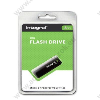 INTEGRAL USB 2.0 PENDRIVE 8GB FEKETE