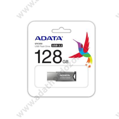 ADATA UV350 USB 3.1 PENDRIVE 128GB EZÜST