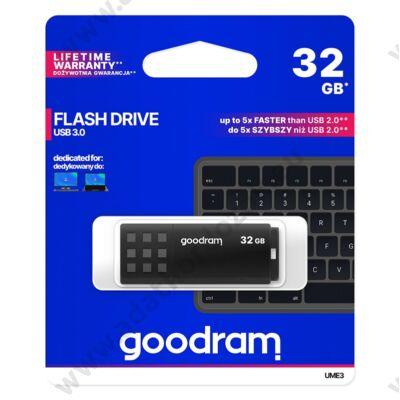 GOODRAM UME3 USB 3.0 PENDRIVE 32GB FEKETE