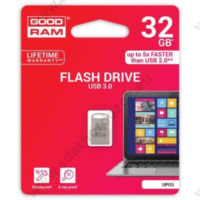 GOODRAM UPO3 FÉMHÁZAS USB 3.0 PENDRIVE 32GB