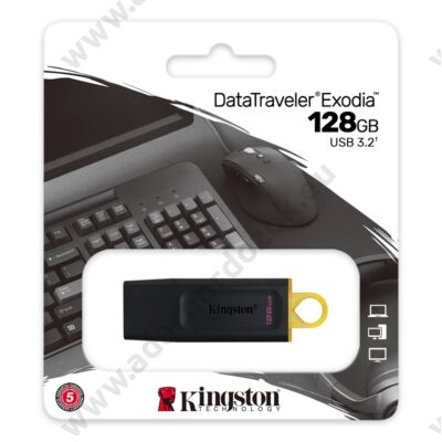 KINGSTON DATATRAVELER EXODIA USB 3.2 GEN 1 PENDRIVE 128GB