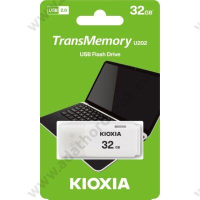 KIOXIA TRANSMEMORY U202 USB 2.0 PENDRIVE 32GB FEHÉR