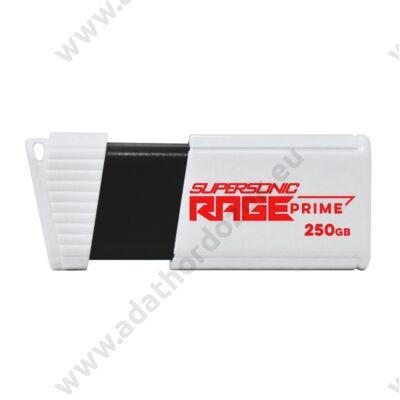 PATRIOT SUPERSONIC RAGE PRIME USB 3.2 GEN 2 PENDRIVE 250GB (600 MB/s ADATÁTVITELI SEBESSÉG)