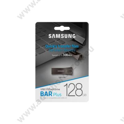 SAMSUNG BAR PLUS USB 3.1 PENDRIVE 128GB SZÜRKE