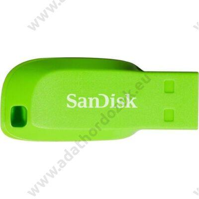 SANDISK USB 2.0 CRUZER BLADE PENDRIVE 32GB ZÖLD