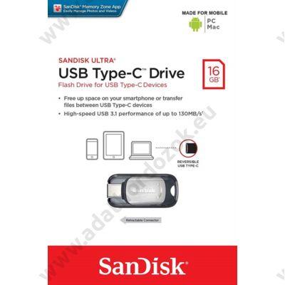 SANDISK ULTRA USB 3.1 TYPE-C PENDRIVE 16GB