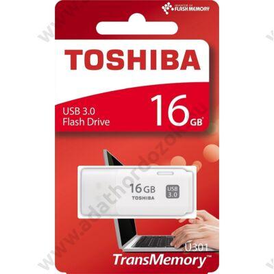 TOSHIBA U301 USB 3.0 PENDRIVE 16GB FEHÉR