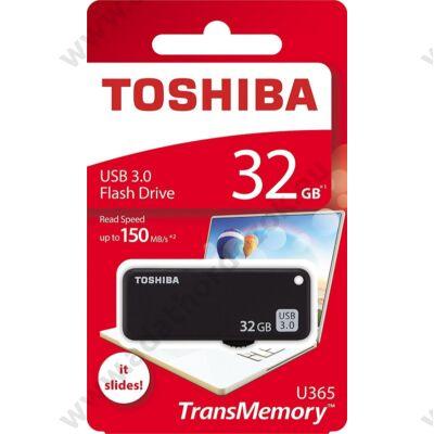 TOSHIBA U365 USB 3.0 PENDRIVE 32GB FEKETE